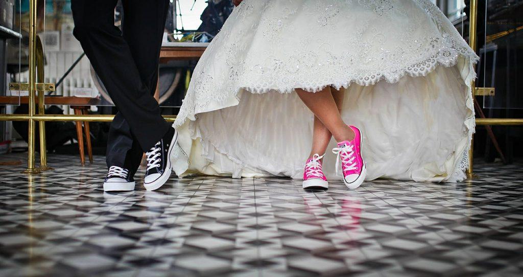sneakers al matrimonio